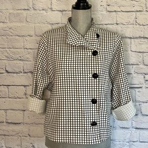 Cabi Windowpane Jacket